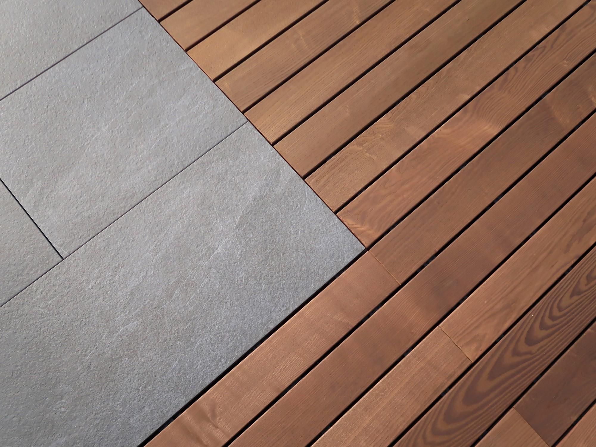 ▷ Feinsteinzeug Terrassenplatten   Holzdirekt Montagen und ...